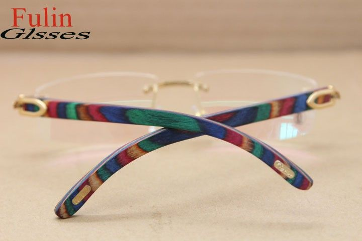 86f6a52426 Cartier T8100905 Peacock Wood-Gold (9). Find this Pin and more on Eye  Glasses ...