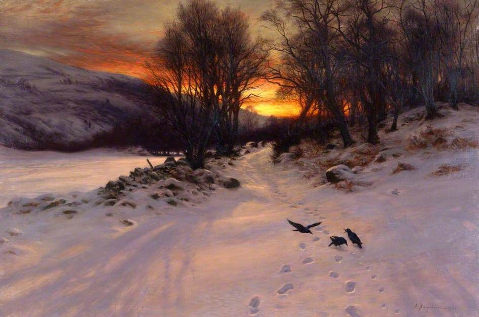 Joseph Farquharson - When the West with Evening Glows,1901
