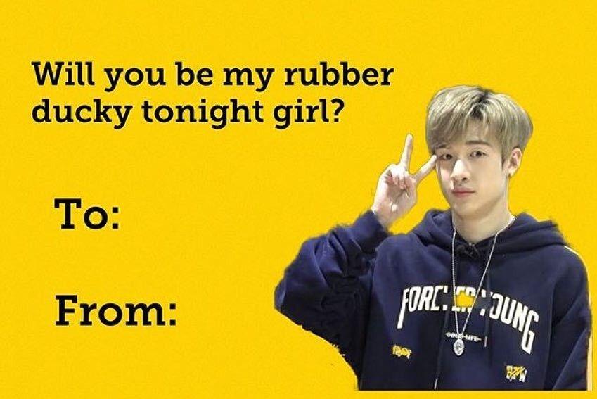 Pin By Hevi On Stᖇa Kiᗪŝ Kid Memes Funny Valentines Cards Kpop Memes