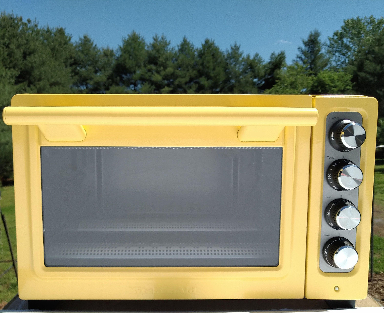 Majestic yellow kitchenaid convection toaster oven