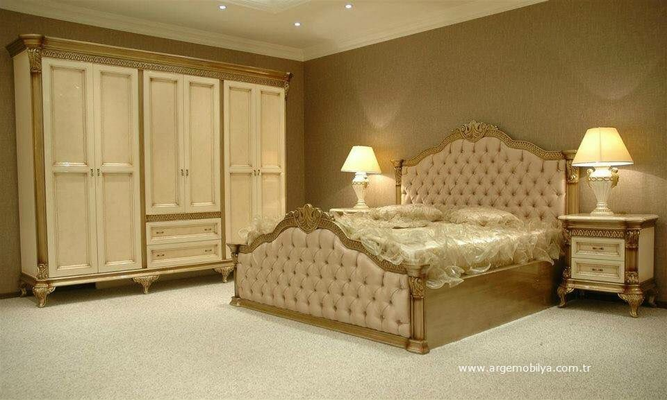 Arge Mobilya Ankara Klasik Yatak Odasi Takimi Klasik Yatak
