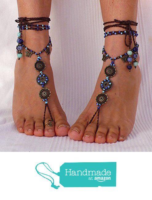 Barefoot Sandals Sky Mandala