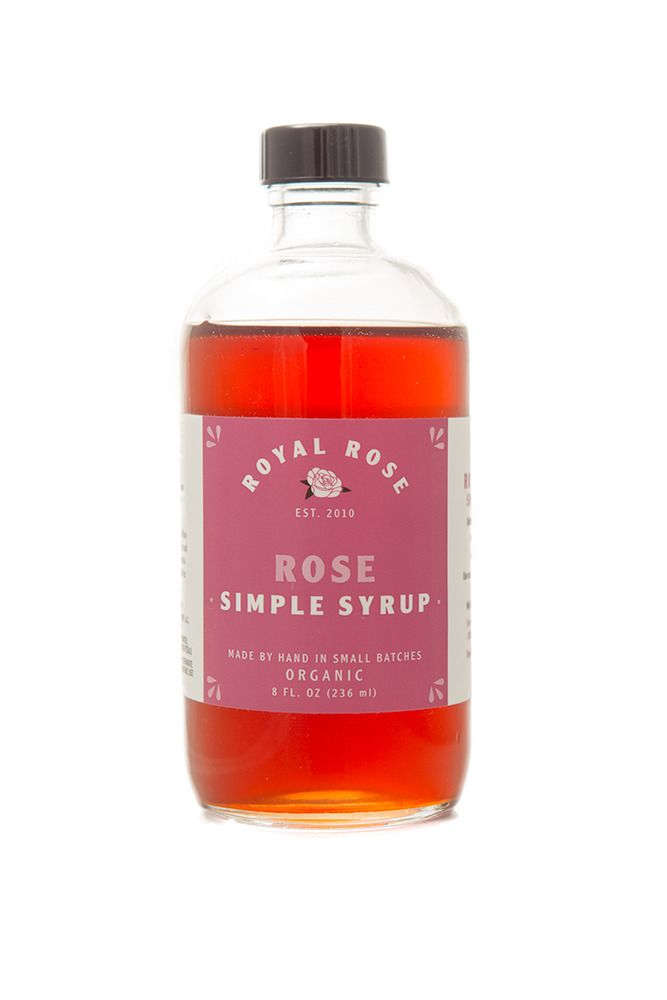 ROSE SYRUP A sophisticated classic: organic fair-trade ...