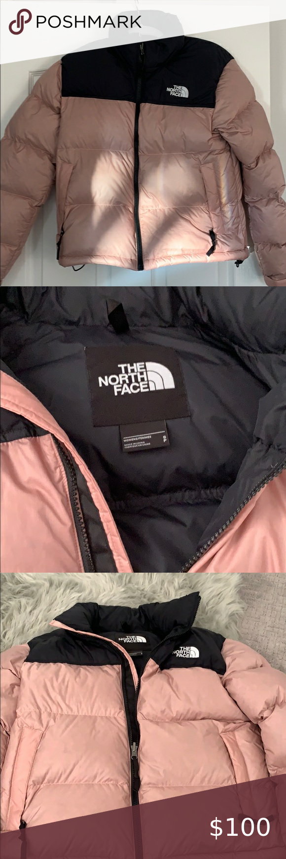 The North Face Retro Nuptse Jacket Rose Gold The North Face Retro Nuptse North Face Puffy Jacket The North Face [ 1740 x 580 Pixel ]