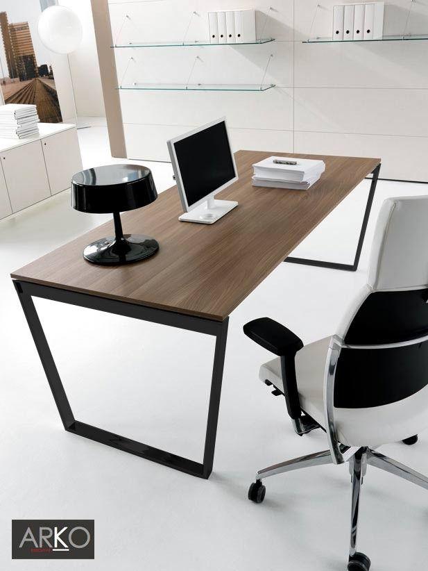 Bureau Arko Executive Plateau Noyer 200 X 90 Cm Ivm
