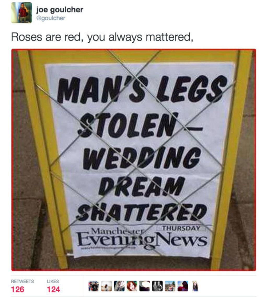 Roses Are Red Tweets That Are Unbelievably Funny BlazePress - 18 roses are red tweets that are unbelievably funny