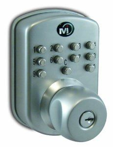 Morning Industry Mp 300 Push Button Mechanical Door Lock Aluminium By Morning Industry 101 96 From The Manuf Door Locks Home Security Tips Door Lock System