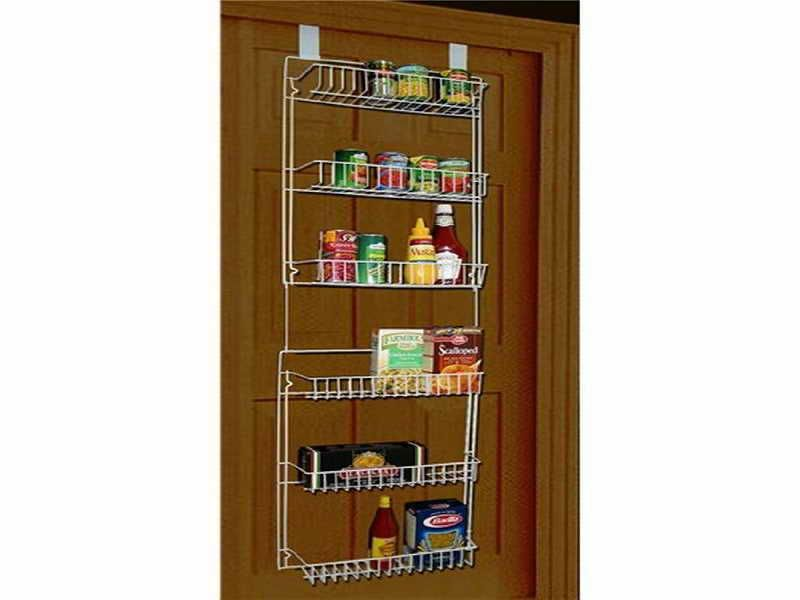Storage Dynamics Vinyl Covered Steel Over Door Storage Basket Rack. Youu0027ll  Love How Much Extra Space This 5 Foot Over Door Rack Gives You.