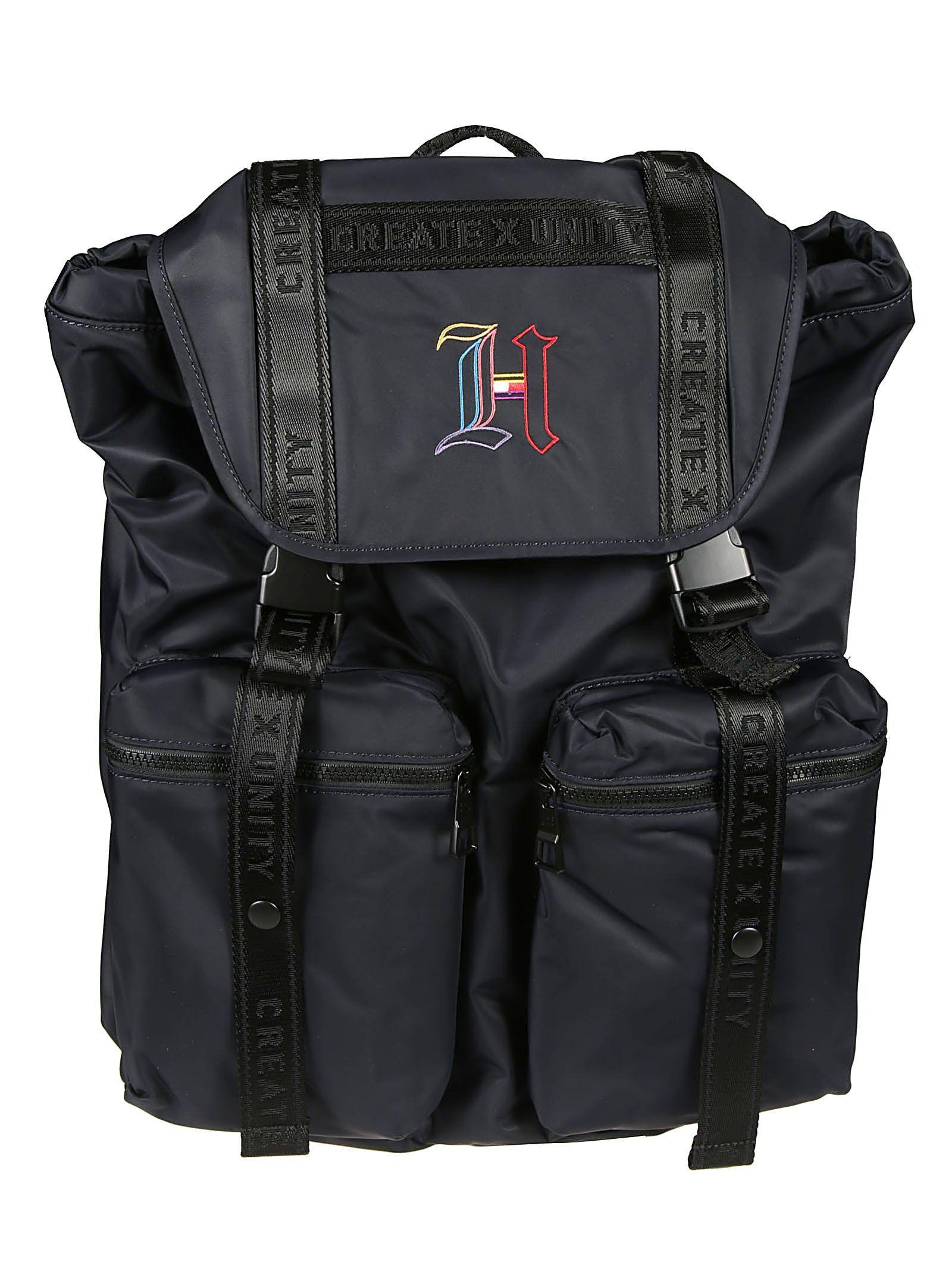 2ac5a416 TOMMY HILFIGER LEWIS HAMILTON MONOGRAM FLAP BACKPACK. #tommyhilfiger #bags # backpacks