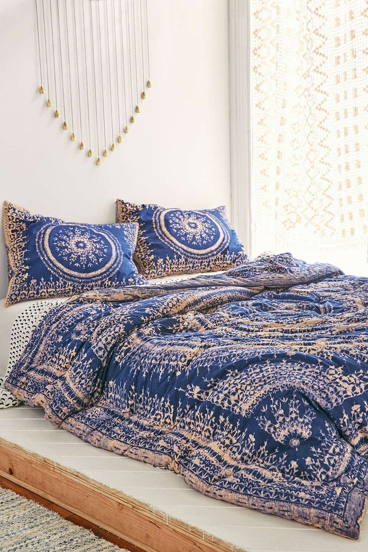Plum Bow Effie Medallion Comforter Bedroom Beach Bohemian And
