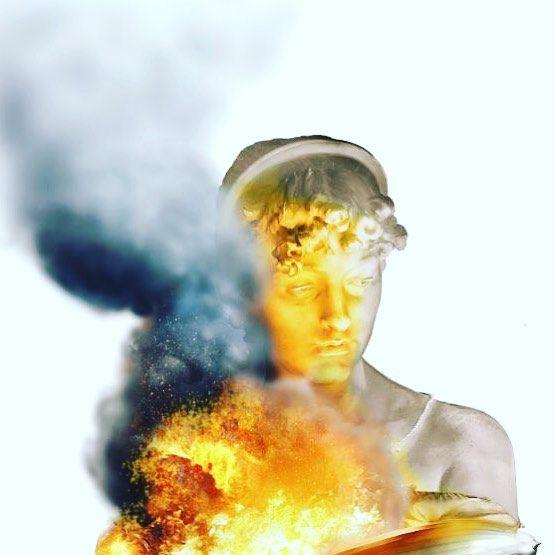 "86 Likes, 14 Comments - Ruben Carrasco (@rubencarrascoart) on Instagram: ""#Detail #artwork in #pogress #popsurreal #art #fire #sculpture #staglieno #rubencarrascoart…"""