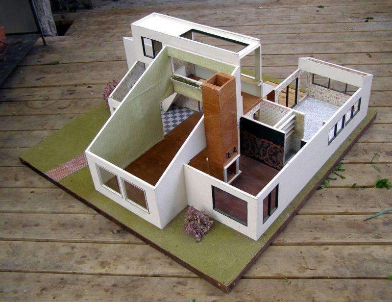 Mini Home Design. A Blog About Vintage Dollhouses From Usa, Uk, Germany.