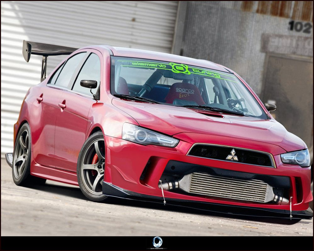 Veilside evo x images galleries with for Garage mitsubishi 95