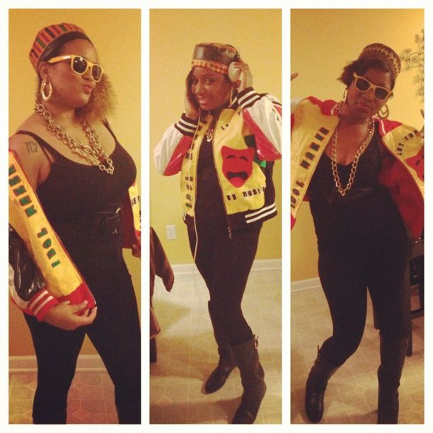 Salt  pepa ft spinderella costumes  party outfits costume also fashion trends hip hop by jessicakelley rh pinterest