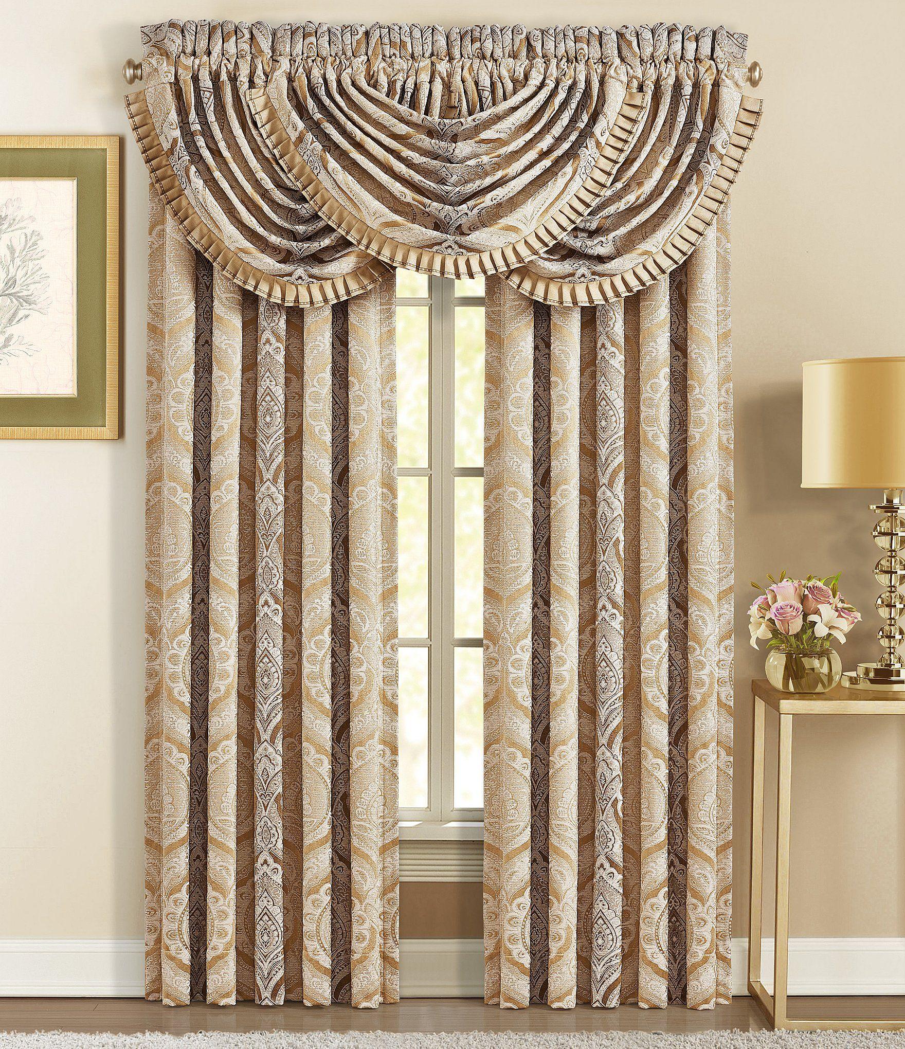 J. Queen New York Gianna Gold Window Treatments   Dillard's #windowtreatments