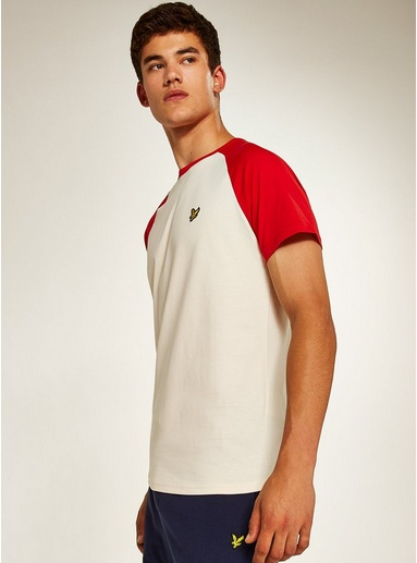 New Lyle /& Scott Boys' Ringer Short Sleeve T-Shirt