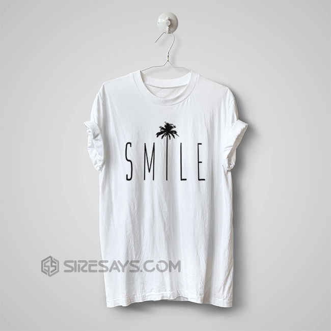 Like and Share if you want this Smile Palm cheap custom shirts ...