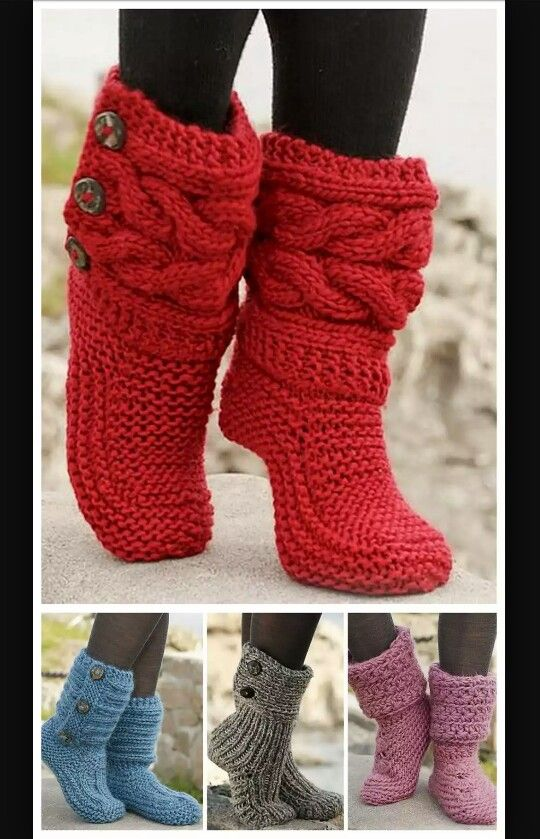 Red Riding Hood Booties | Calcetines, guantes.... | Pinterest ...