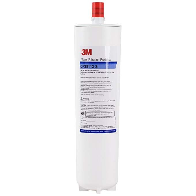 3m Cuno Cfs8112 S 12 7 8 Replacement Scale Reduction Cartridge 1 Micron And 1 5 Gpm Review With Images Water Filtration Water Coolers Water Filtration System