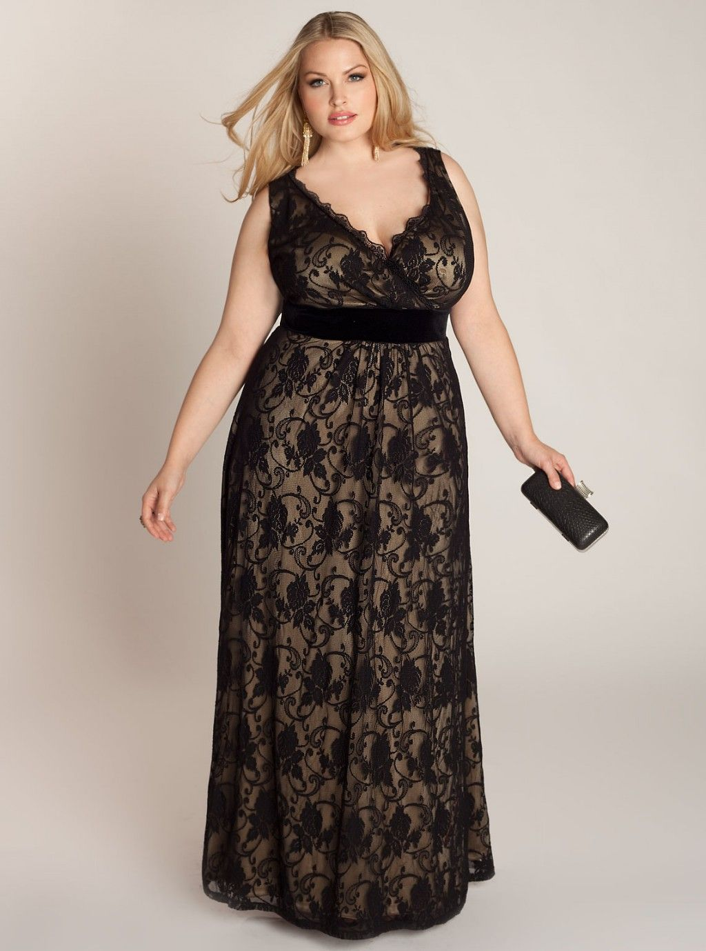 Plus size party dresses for weddings  Pin by marcela on IDEAS PARA MAMA  Pinterest  Gowns Curvy and