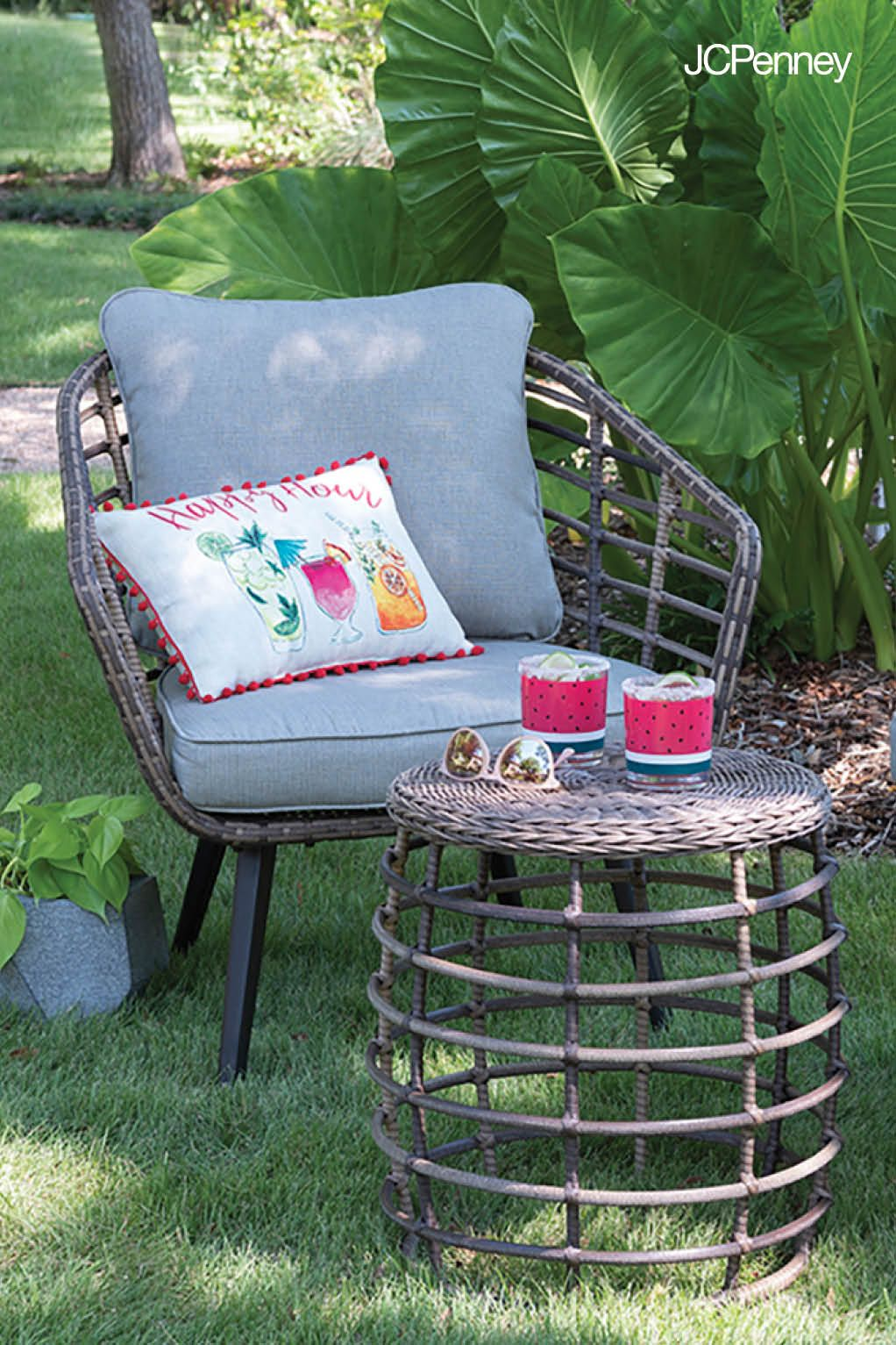 When A Cozy Conversation Is On The Summer Agenda Conversation Set Patio Outdoor Cushions Outdoor Conversation Sets