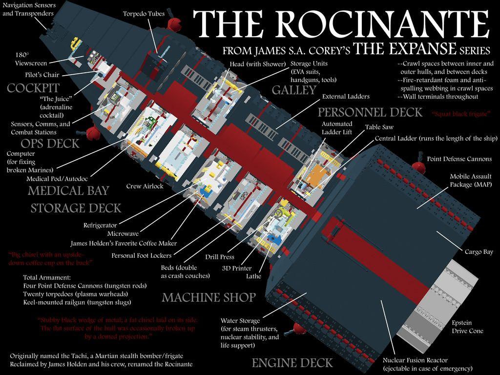 spaceship cutaway diagram cat 45 wiring rocinante http flickr photos 116603424