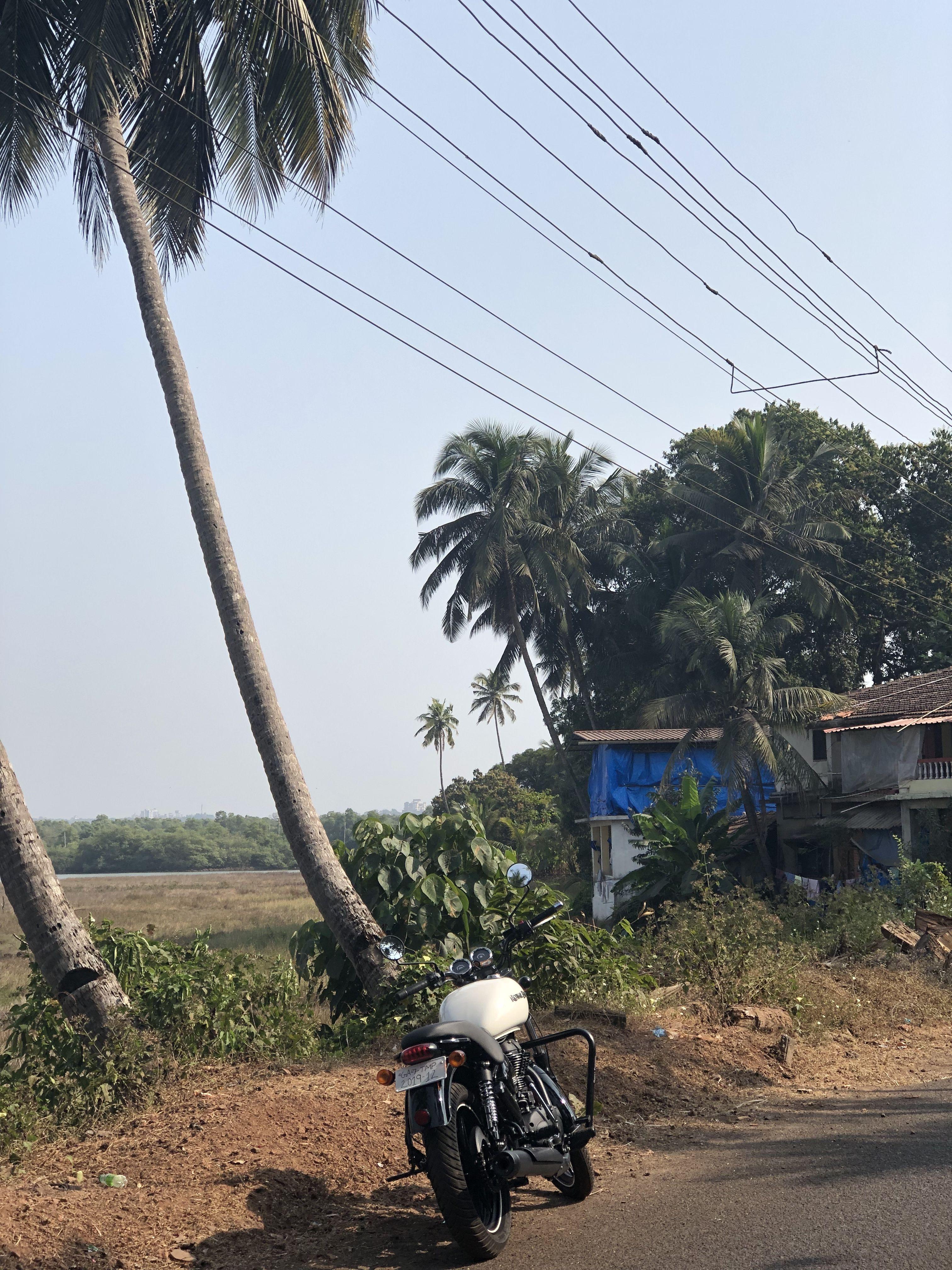 Goa rides #thunderbirdx #goalife #goaindia