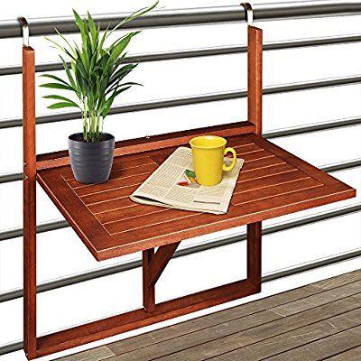 Amazon De Balkonhangetisch Hangetisch Balkontisch Balkon Tisch