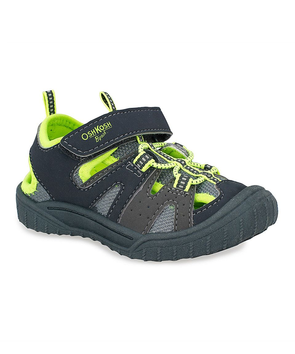 09bd6f72e Another great find on  zulily! Neon Green Hava Closed-Toe Sneaker by OshKosh
