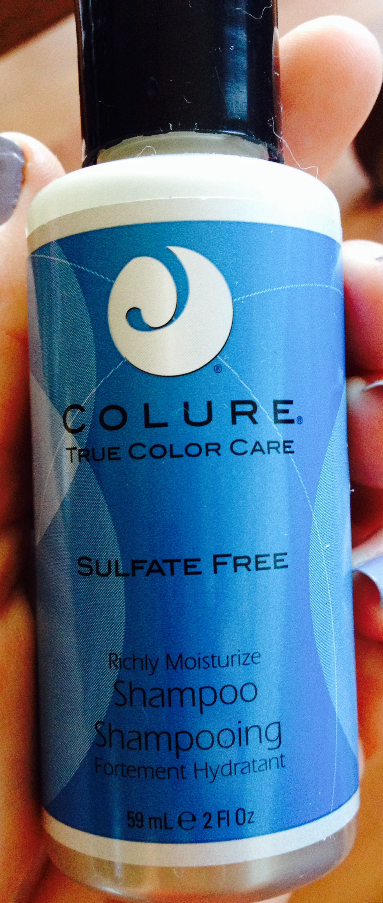 Colure Color Care shampoo travel size (unopened)