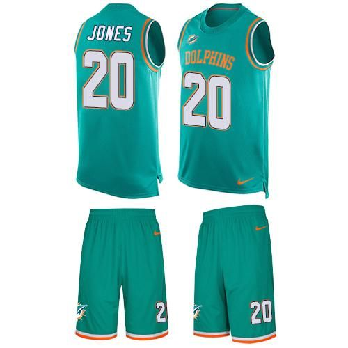 9aed36f1d Brian Dawkins jersey Nike Dolphins  20 Reshad Jones Aqua Green Team Color  Men s Stitched NFL