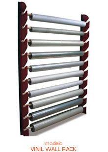 portarrollos vinyl wall rack muebles