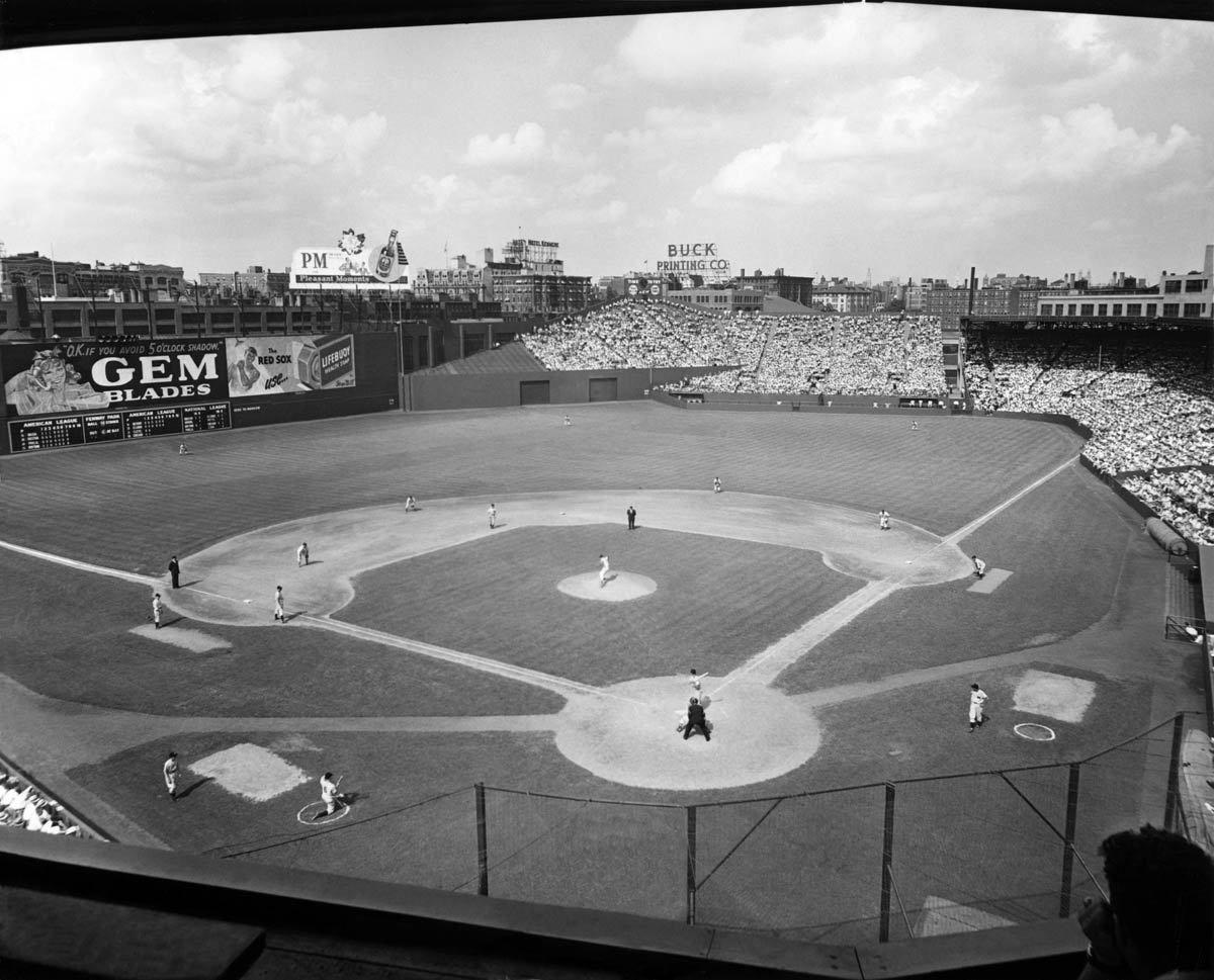 Ballpark Prints Fenway Park June 30 1946 Fenway Park Baseball Park Ballparks