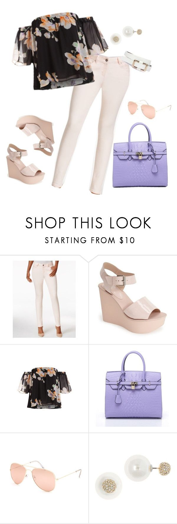 """Hola Senorita!"" by styl-i-sique ❤ liked on Polyvore featuring Earl Jean, Topshop, Full Tilt and Anne Klein"