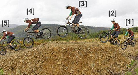 How To Jump A Mountain Bike Bike Training Mountain Biking