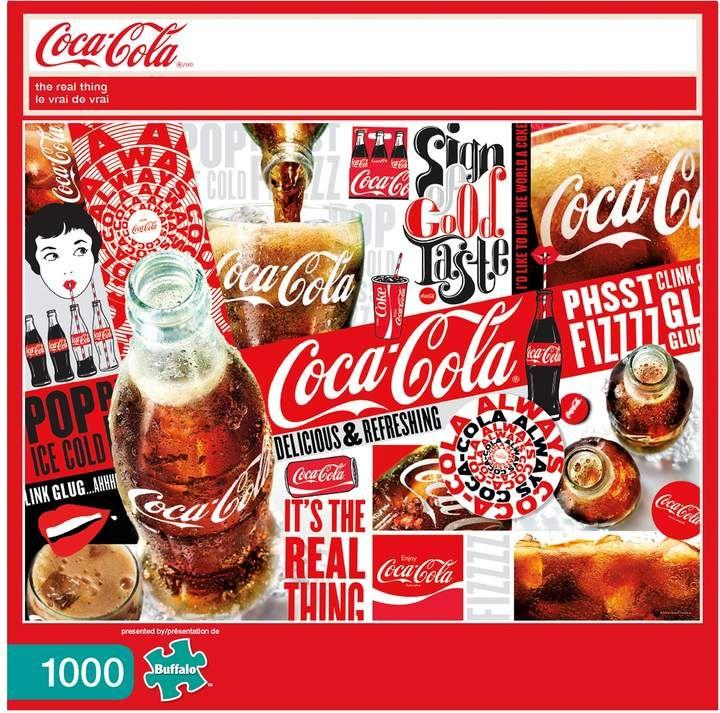 Buffalo Games 1000-Piece Coca-Cola: \