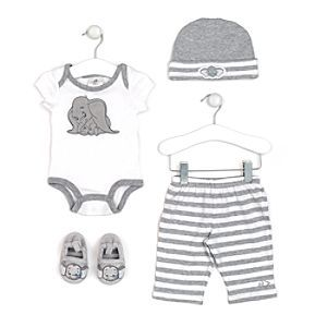 Booties Blanket Disney Hat SPECIAL OFFER  Dumbo Baby Sleepsuit Babygrow