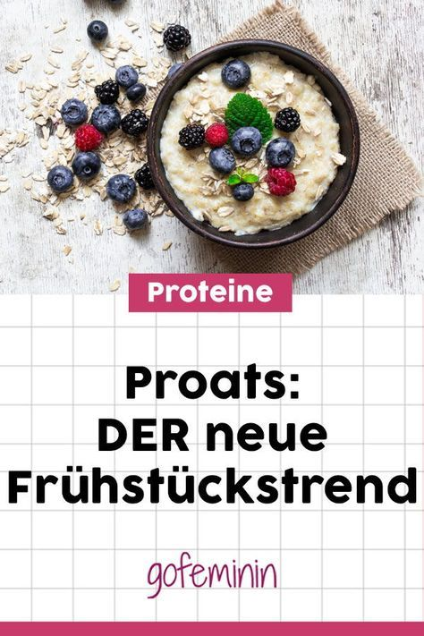 Photo of Powerfrühstück für Fitness-Girls: Jetzt sind alle verrückt nach Proats!