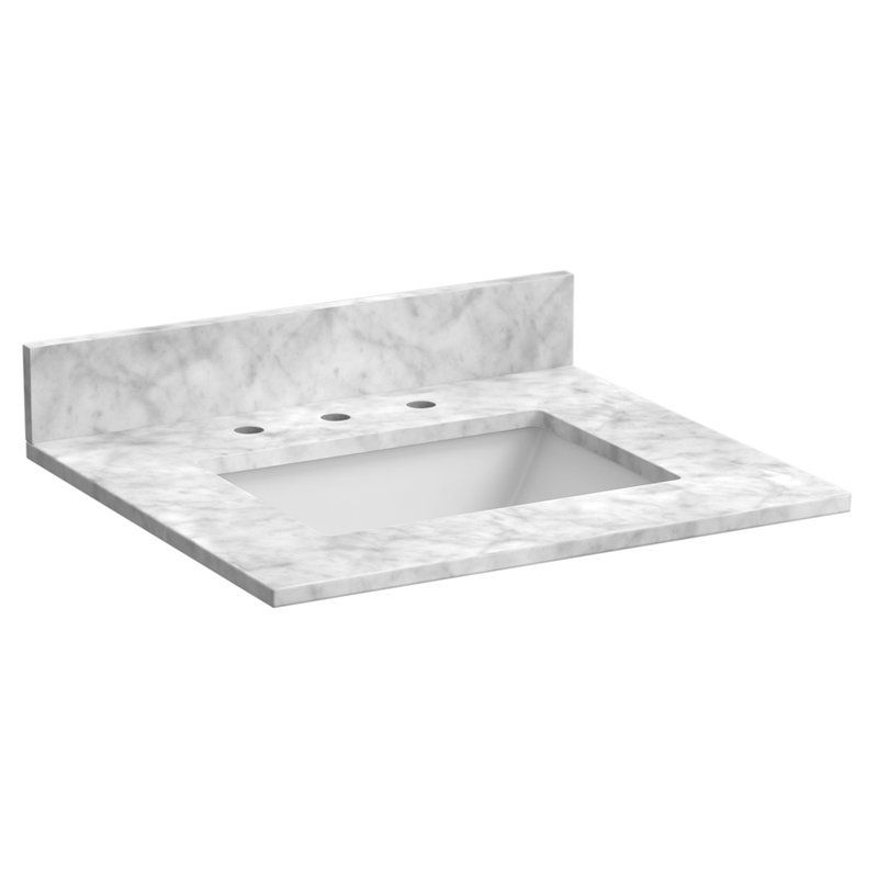Foremost 25 In Marble Vanity Top With Sink St25228cwr In 2019