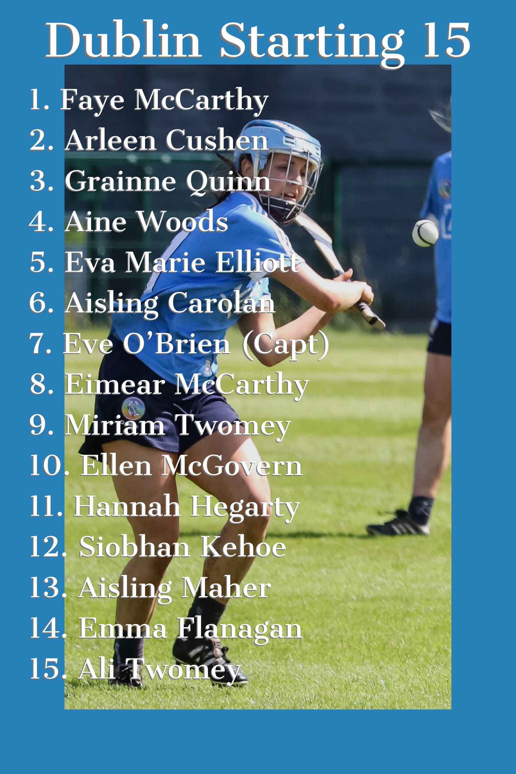 NO CHANGES FOR DUBLIN AHEAD OF GALWAY GAME (With images
