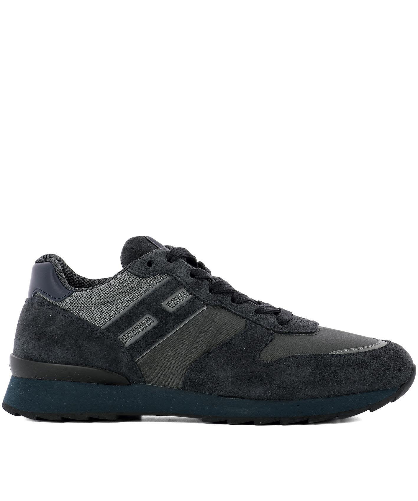 Sneaker H205 suede Logo light grey Hogan JYPUyKnBZ