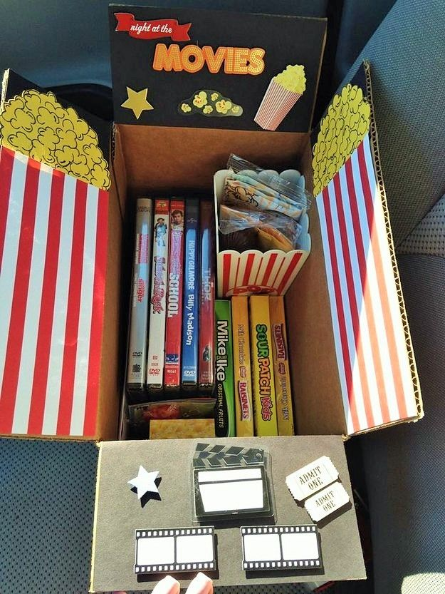 Healthy Care Packages For College Students The Movie Night Package