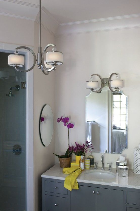 Hinkley Lighting Monaco collection chandelier and sconce Hinkley Lighting Pinterest ...