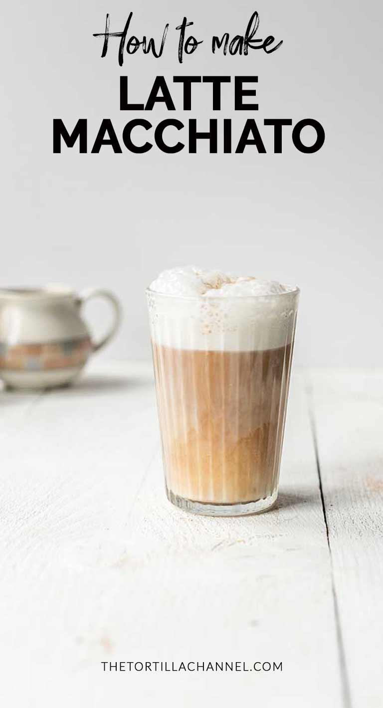 How To Make Vegan Latte Macchiato Coffee - The Tortilla Channel
