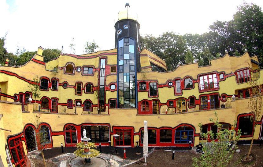 for Architecture hundertwasser