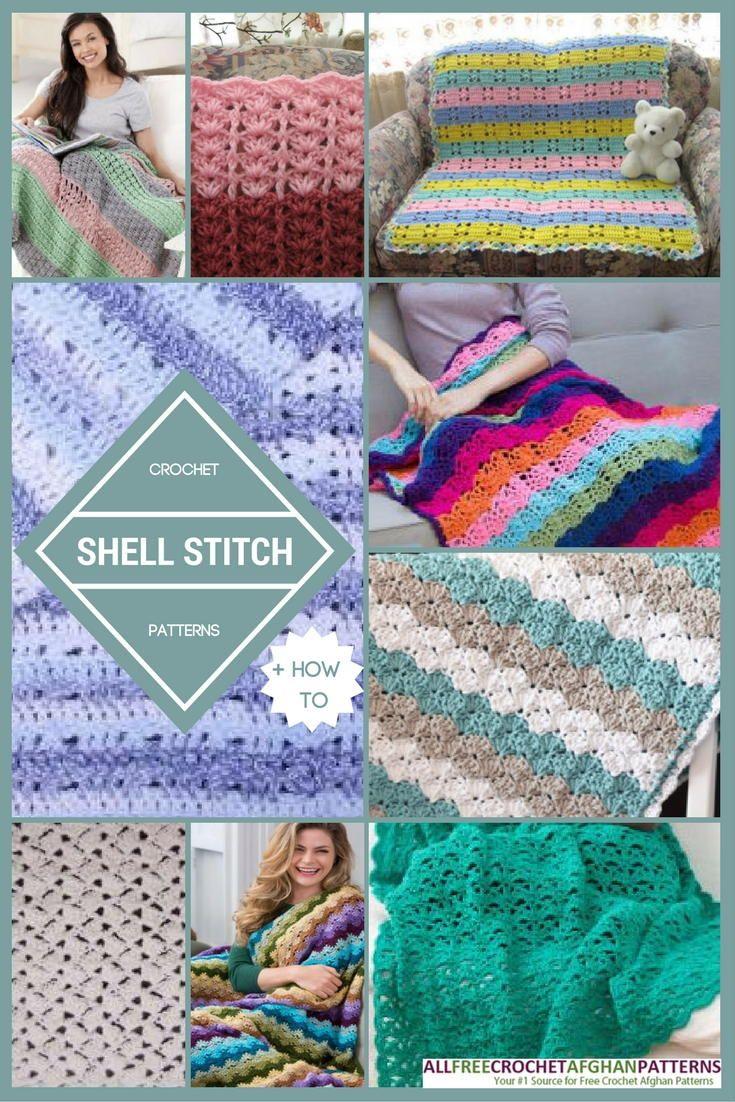 29 Crochet Shell Stitch Patterns