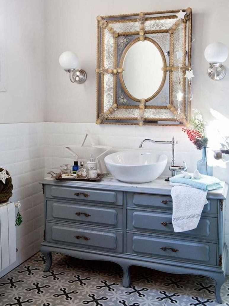C Mo Reutilizar Un Mueble Antiguo Como Lavabo Deco Pinterest  # Muebles Nauticos Antiguos