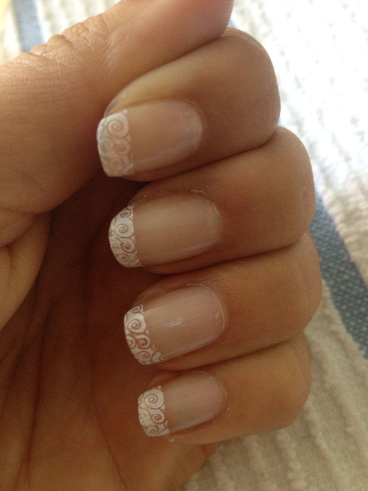 Konad french nail design i get french tip all of the time i konad french nail design i get french tip all of the time prinsesfo Images