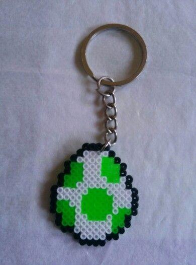 Llavero huevo hama beads