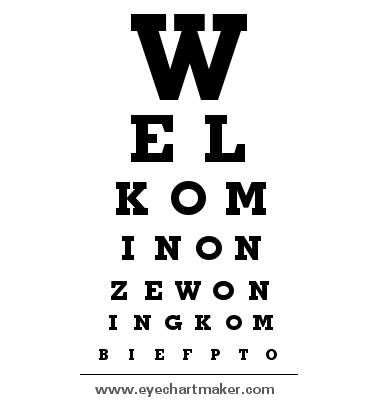 Custom eye chart maker 5376 pinterest chart maker custom